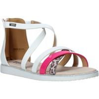 Topánky Dievčatá Sandále Miss Sixty S20-SMS768 Biely