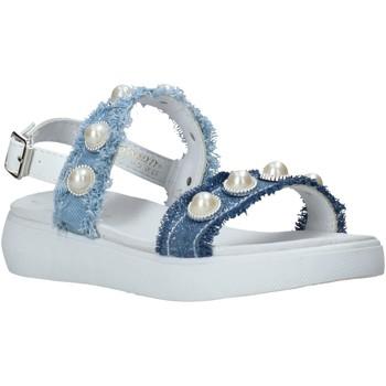 Topánky Dievčatá Sandále Miss Sixty S20-SMS773 Modrá