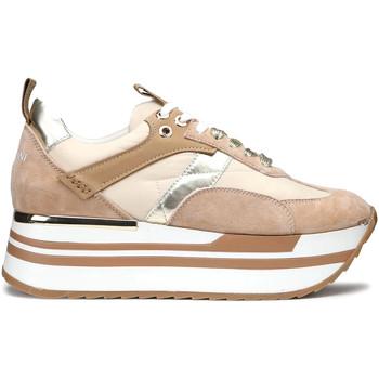 Topánky Ženy Módne tenisky Alberto Guardiani AGW004304 Béžová