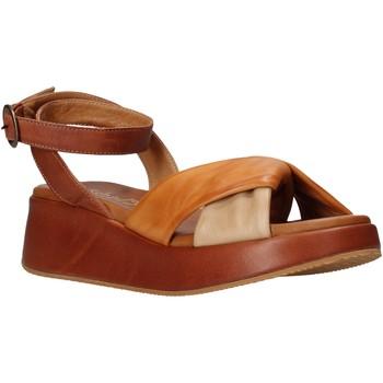 Topánky Ženy Sandále Sshady L2401 Hnedá