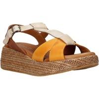 Topánky Ženy Sandále Sshady L2404 Hnedá