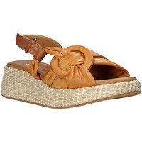 Topánky Ženy Sandále Sshady L2406 Hnedá