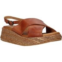 Topánky Ženy Sandále Sshady L2410 Hnedá