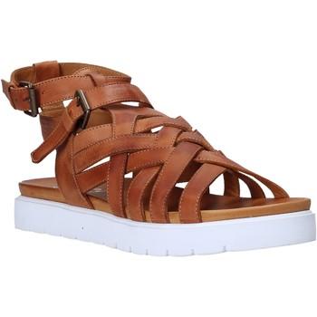 Topánky Ženy Sandále Sshady L2306 Hnedá