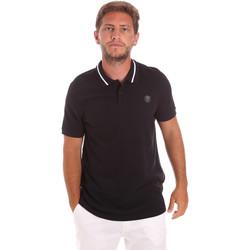 Oblečenie Muži Polokošele s krátkym rukávom Roberto Cavalli FST693 čierna