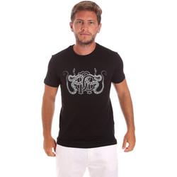 Oblečenie Muži Tričká s krátkym rukávom Roberto Cavalli HST66B čierna