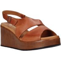 Topánky Ženy Sandále Sshady L2502 Hnedá