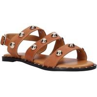 Topánky Ženy Sandále Sshady MRT2117 Hnedá