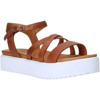 Topánky Ženy Sandále Sshady L2304 Hnedá