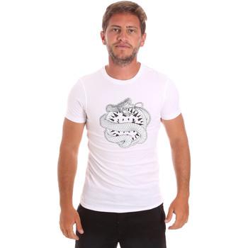 Oblečenie Muži Tričká s krátkym rukávom Roberto Cavalli HST64B Biely