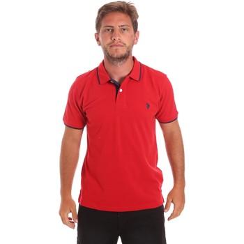 Oblečenie Muži Polokošele s krátkym rukávom U.S Polo Assn. 51139 49785 Červená