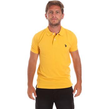 Oblečenie Muži Polokošele s krátkym rukávom U.S Polo Assn. 51007 49785 žltá