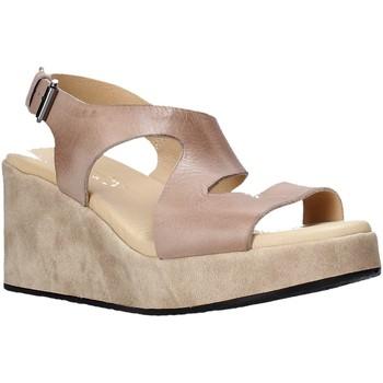 Topánky Ženy Sandále Sshady L2505 Hnedá