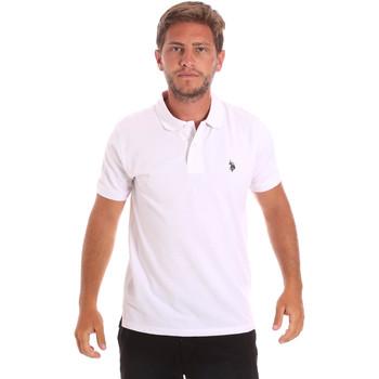 Oblečenie Muži Polokošele s krátkym rukávom U.S Polo Assn. 51007 49785 Biely