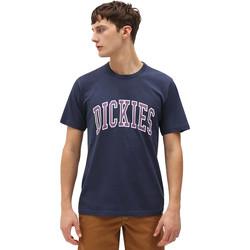 Oblečenie Muži Tričká s krátkym rukávom Dickies DK0A4X9FNV01 Modrá