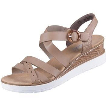 Topánky Ženy Sandále Rieker V384160 Béžová