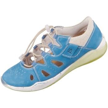 Topánky Ženy Nízke tenisky Josef Seibel Ricky 17 Modrá, Béžová