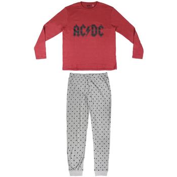Oblečenie Muži Pyžamá a nočné košele Ac/dc 2200004849 Rojo