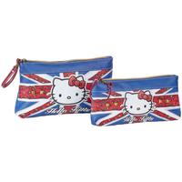 Tašky Ženy Púzdra a taštičky Hello Kitty 45431 Azul