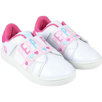 Topánky Dievčatá Nízke tenisky Peppa Pig 2300004407 Blanco