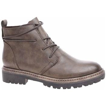 Topánky Ženy Polokozačky Marco Tozzi 222520721728 Hnedá