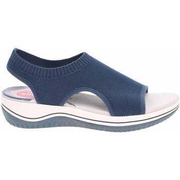 Topánky Ženy Sandále Jana 882872836810 Tmavomodrá