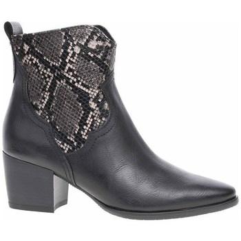 Topánky Ženy Čižmičky Marco Tozzi 222535323096 Čierna, Grafit