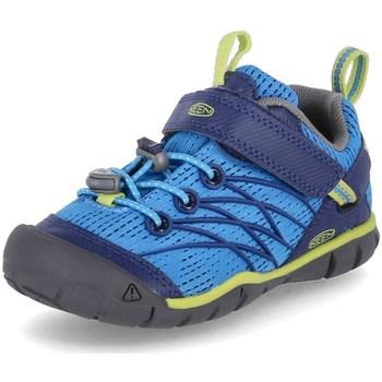 Topánky Chlapci Turistická obuv Keen Chandler Cnx Modrá