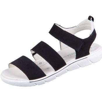 Topánky Dievčatá Sandále Ricosta Delia Čierna