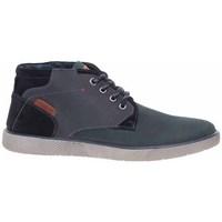 Topánky Muži Polokozačky S.Oliver 551520325805 Čierna, Grafit