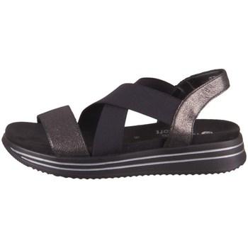 Topánky Ženy Sandále Remonte Dorndorf R295402 Čierna