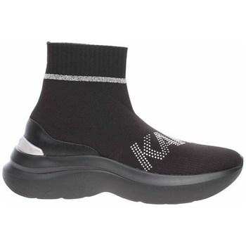 Topánky Ženy Členkové tenisky Karl Lagerfeld KL61855 Čierna