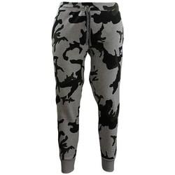 Oblečenie Muži Legíny Nike Camouflage Jogginghose Čierna, Sivá, Zelená