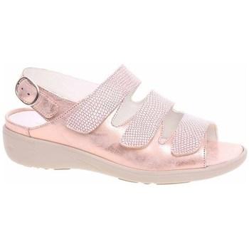 Topánky Ženy Sandále Waldläufer 684002200139 Zlatá, Béžová