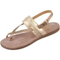 Topánky Dievčatá Sandále Bisgaard 719321211128 Zlatá