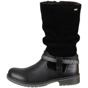 Topánky Dievčatá Čižmy do mesta Lurchi Lia Čierna