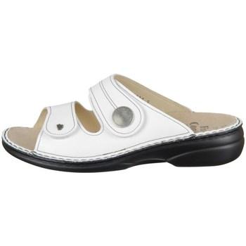 Topánky Ženy Šľapky Finn Comfort Sansibar Biela