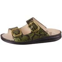 Topánky Ženy Šľapky Finn Comfort Lipari Čierna, Zelená