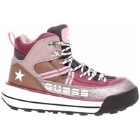 Topánky Ženy Turistická obuv Guess Ravele Strieborná, Hnedá, Ružová