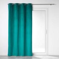 Domov Závesy, rolety Douceur d intérieur VELOUNIGHT Zelená smaragdová