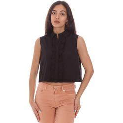 Oblečenie Ženy Košele a blúzky Gaudi 111FD45001 čierna