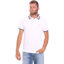 Oblečenie Muži Polokošele s krátkym rukávom Trussardi 52T00491-1T003600 Biely