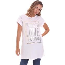 Oblečenie Ženy Tričká s krátkym rukávom Fracomina FR21ST3012J40615 Biely