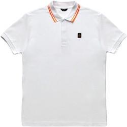 Oblečenie Muži Polokošele s krátkym rukávom Refrigiwear RM0T24000PX9032 Biely