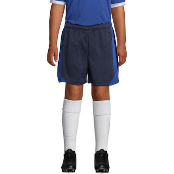 Oblečenie Chlapci Šortky a bermudy Sols OLIMPICO KIDS pantalón corto Azul