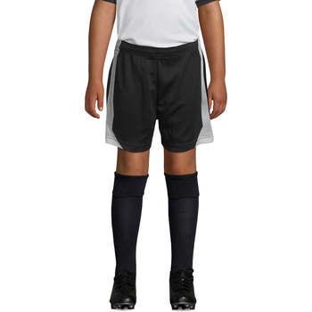 Oblečenie Chlapci Šortky a bermudy Sols OLIMPICO KIDS pantalón corto Negro