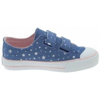 Topánky Dievčatá Nízke tenisky MTNG ZAPATILLAS VELCRO NIÑA MUSTANG 47289 Modrá