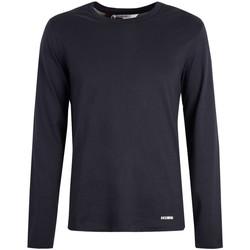 Oblečenie Muži Tričká s dlhým rukávom Bikkembergs  Modrá
