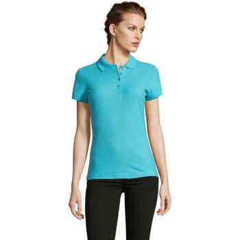 Oblečenie Ženy Polokošele s krátkym rukávom Sols PEOPLE POLO MUJER Azul