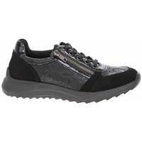Topánky Ženy Nízke tenisky Remonte Dorndorf D570102 Čierna, Grafit